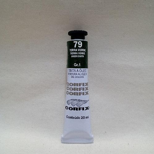 Tinta a Óleo Terra Verde 20 ml