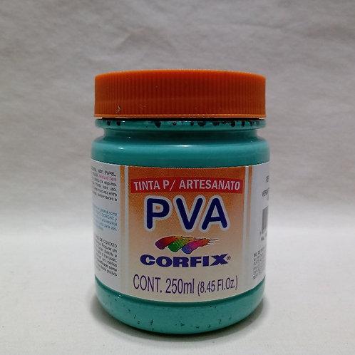 Tinta PVA Verde Turquesa 250 ml