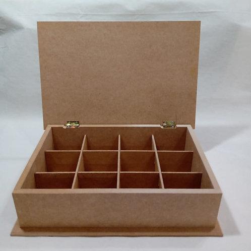 Caixa de Chá 12 Divisões