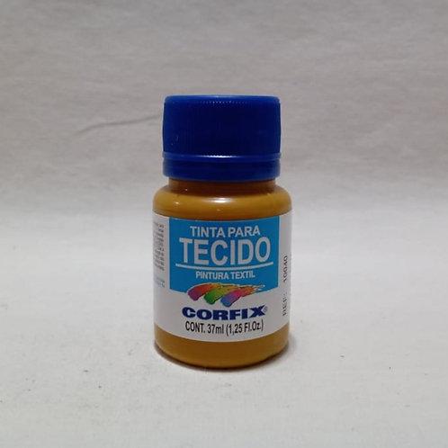 Tinta para Tecido Amarelo Ocre 37 ml