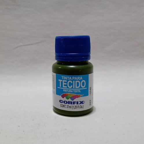 Tinta para Tecido Verde Oliva 37 ml