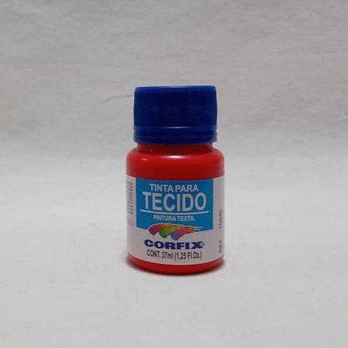 Tinta para Tecido Vermelho Vivo 37 ml