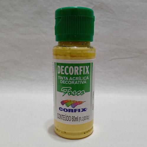 Tinta Acrílica Fosca Amarelo Palha 60 ml
