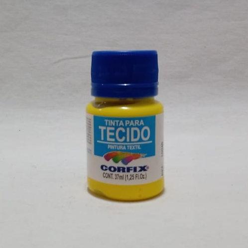 Tinta para Tecido Amarelo Ouro 37 ml