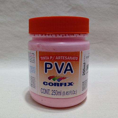 Tinta PVA Rosa Bebê 250 ml.