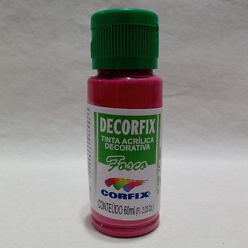 Tinta Acrílica Fosca Rosa Escuro 60 ml