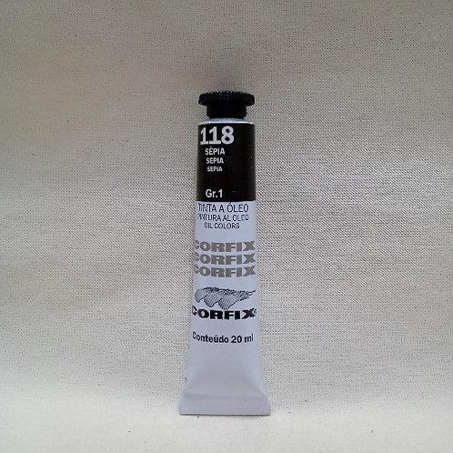 Tinta a Óleo Sépia 20 ml
