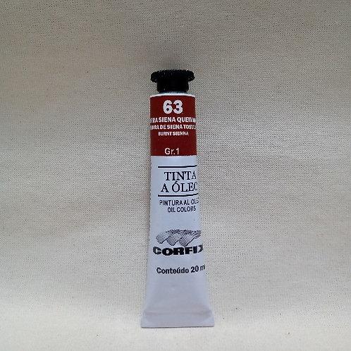 Tinta a Óleo Terra Siena Queimada 20 ml