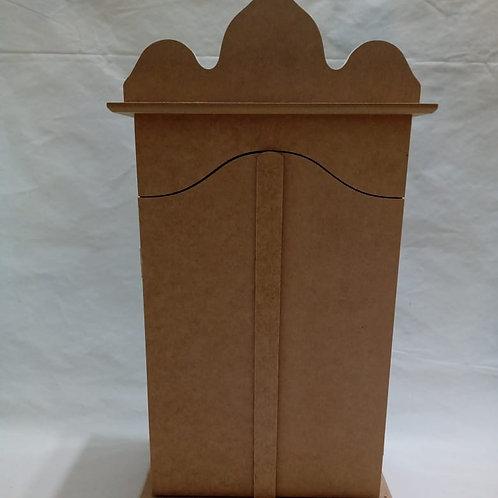 Capela Detalhada Grande com Portas