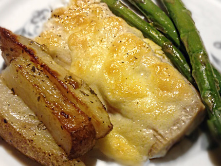 Lemon Parmesan Fish Sauce