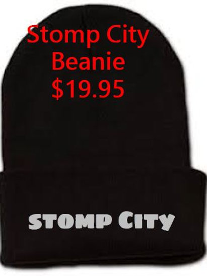 Stomp City Beanie Black