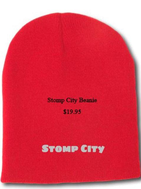 Stomp City Beanie Red