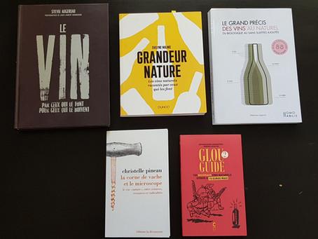 5 livres pour comprendre les vins au naturel