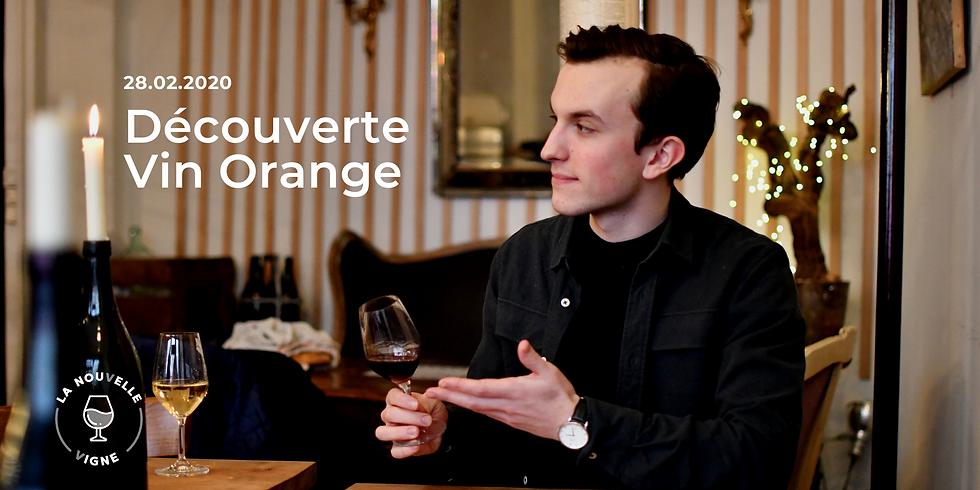 Découverte du vin orange