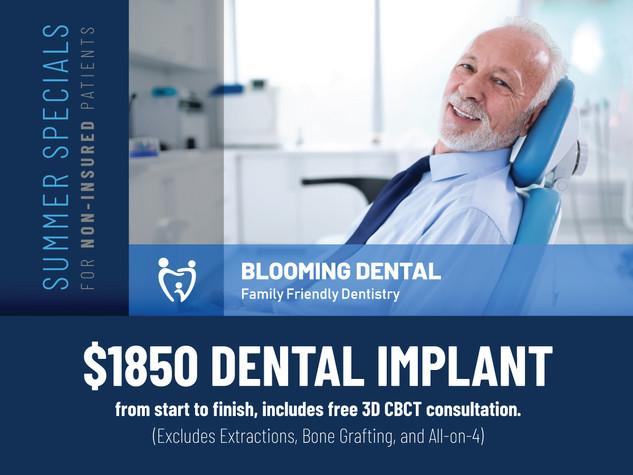 Blooming dental Cedar Park_Summer Specials_$1850 Dental Implant.jpg