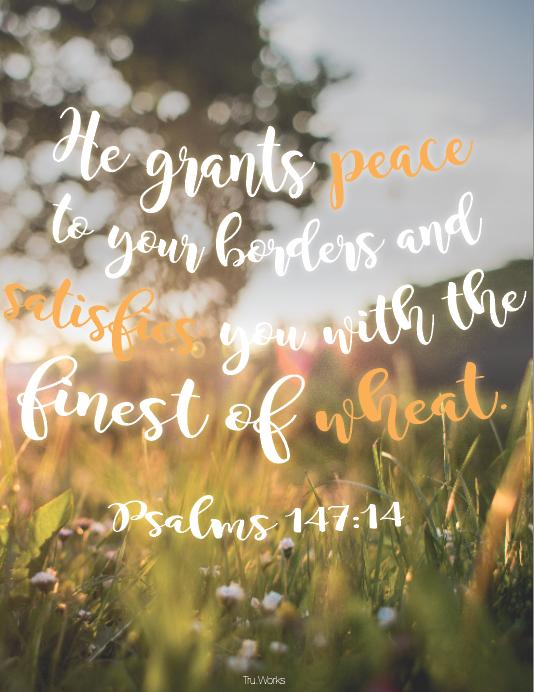 Psalms 147:14