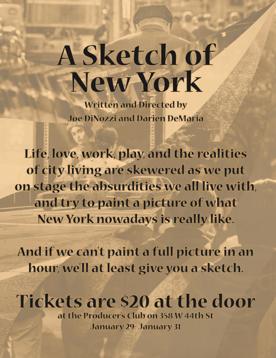 A Sketch of New York