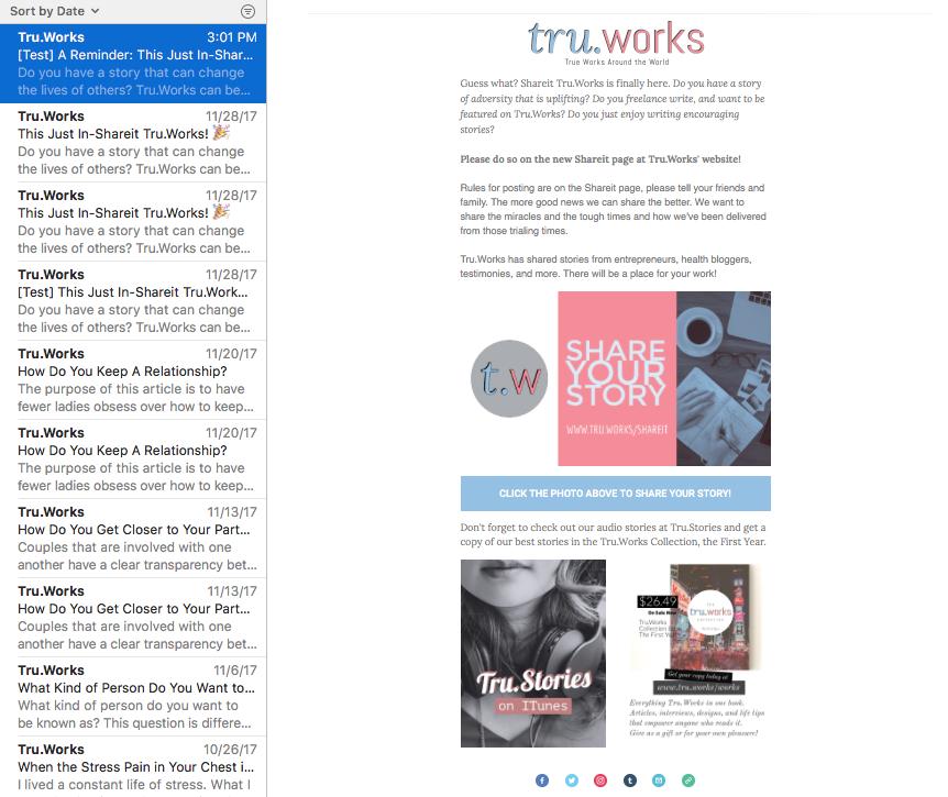 Tru.Works.Works Newsletter