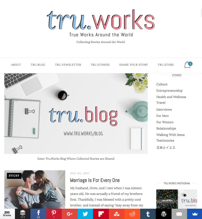 Tru.Works/Blog Page