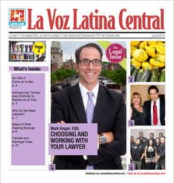 La Voz Latina Central Cover June
