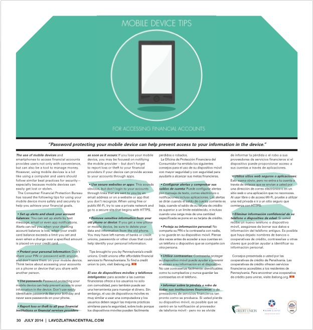 Mobile Device Tips