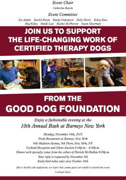 Good Dog Foundation Poster