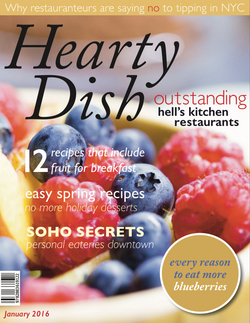 Hearty Dish Magazine Cover