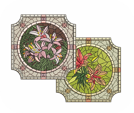 STAIN GLASS VALUE PACK (ALL 10 DESIGNS)