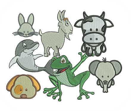ANIMALS VALUE PACK (ALL 57 DESIGNS)