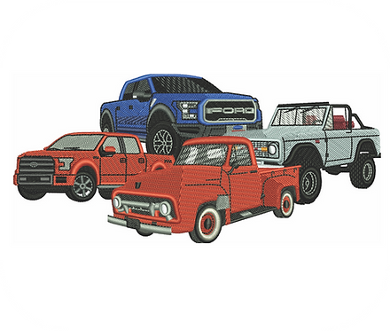 AUTO FORD TRUCKS VALUE PACK (ALL 16 DESIGNS)