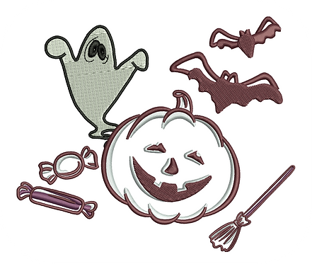HALLOWEEN VALUE PACK (ALL 16 DESIGNS)