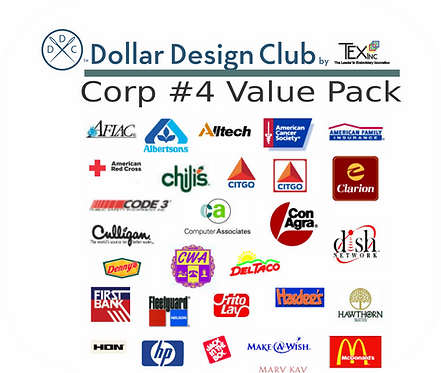 CORP LOGOS #4 VALUE PACK (45 DIGITIZED FILES)