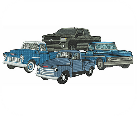 AUTO CHEVY TRUCKS VALUE PACK (ALL 16 DESIGNS)
