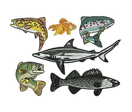 FISH VALUE PACK (ALL 29 DESIGNS)