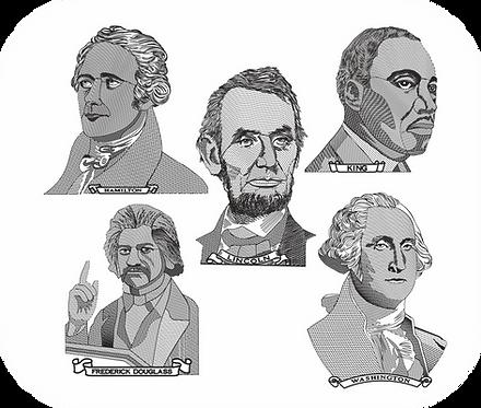 AMERICAN LEADERS 1 VALUE PACK (ALL 12 DESIGNS)