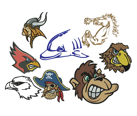 MASCOTS VALUE PACKS (ALL 105 DESIGNS)