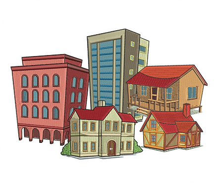 BUILDINGS VALUE PACK (ALL 24 DESIGNS)