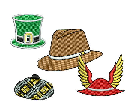 HATS VALUE PACK (ALL 50 DESIGNS)