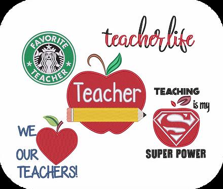 TEACHER #1 VALUE PACKS (ALL 20 DESIGNS)