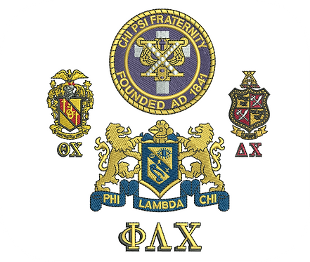 GREEK GUYS FRATERNITIES VALUE PACK (ALL 48 DESIGNS)