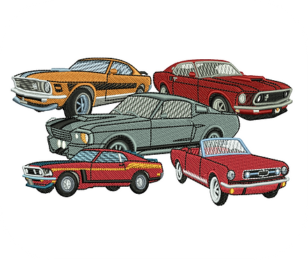 AUTO FORD CARS VALUE PACK (ALL 14 DESIGNS)