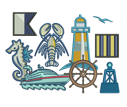 NAUTICAL VALUE PACK (ALL 58 DESIGNS)