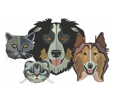 DOGS & CATS VALUE PACK (ALL 30 DESIGNS)