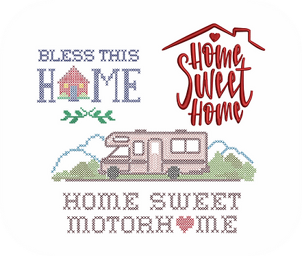 HOME SWEET HOME VALUE PACK (ALL 8 DESIGNS)