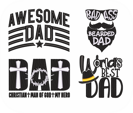 DAD1 VALUE PACK (ALL 28 DESIGNS)