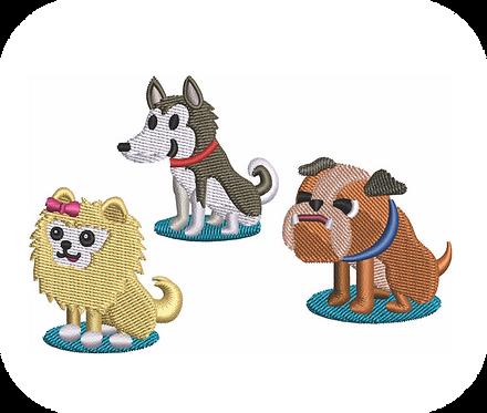DOG CARTOON VALUE PACK (ALL 28 DESIGNS)