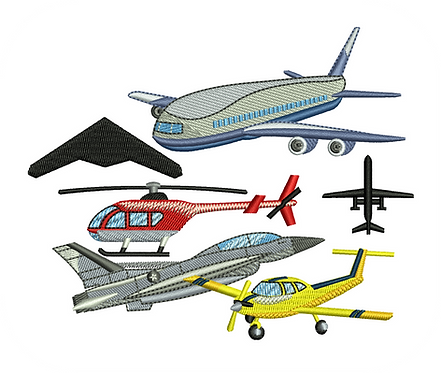 AIRCRAFT PLANE VALUE PACK (ALL 30 DESIGNS)
