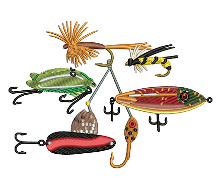 FISHING LURES VALUE PACK (ALL 34 DESIGNS)