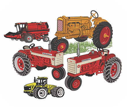 TRACTOR VALUE PACK (ALL 30 DESIGNS)