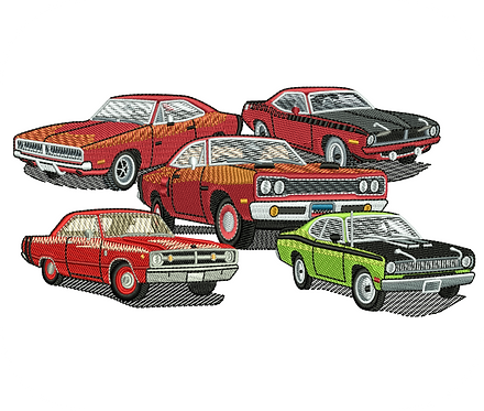 AUTO DODGE CARS VALUE PACK (ALL 10 DESIGNS)